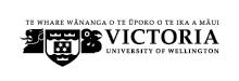 Victoria University home